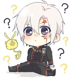 "Why am I small suddenly?"" ℾGood morning~ I'm home from school because being sick sucks yay⅃ 🍡 🌱Credit to artist 🍡 Grey Man, D Gray Man Allen, Anime Couples Manga, Cute Anime Couples, Anime Guys, Fan Anime, Anime Art, Anime Chibi, Kawaii Anime"
