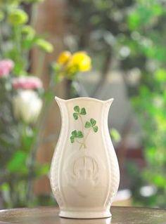 Belleek Gaelic 4'' Mini Vase