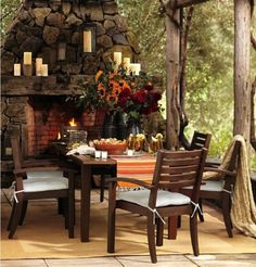 Now this is my kinda outdoor living!