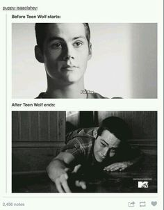 Me after teen wolf