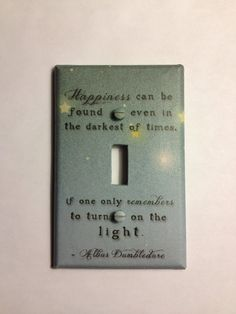 Dumbledore lightswitch!