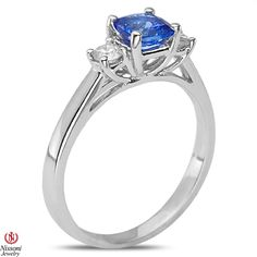 Ebay NissoniJewelry presents - 1/5CT Diamond Fashion Ring with Tanzanite 14k White Gold    Model Number:FR7900D-W477TA    http://www.ebay.com/itm/1-5CT-Diamond-Fashion-Ring-with-Tanzanite-14k-White-Gold/221630440422