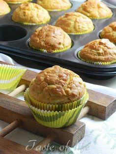 Taste of life: Mafini sa tikvicama Mafini Recepti, Torte Recepti, Savory Muffins, Healthy Muffins, Baking Recipes, Cookie Recipes, English Food, English Recipes, No Bake Cake
