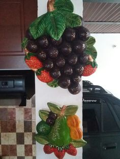 Arts And Crafts, Paper Crafts, Murals, Fruit, Home Decor, Diy, Mason Jars, Decorations, Paintings
