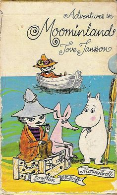 by cardboard antlers (moomins, tove jansson) I love Moomin Moomin Books, Tove Jansson, Vintage Children's Books, Children's Literature, Children's Book Illustration, Book Design, Childhood Memories, Childrens Books, Book Art