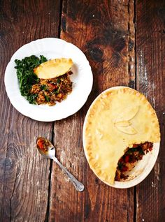 Thinking of a healthy dinner? Try gluten-free curried veg pie recipe by Jamie Oliver Veg Pie, Vegetable Pie, Vegetable Recipes, Vegetarian Recipes, Cooking Recipes, Healthy Recipes, Free Recipes, Healthy Eats, Gluten Free Pastry