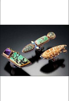 Rings by Julie Shaw Designs. American Made. See the designer's work at the 2015 American Made Show, Washington DC. January 16-19, 2015. americanmadeshow.com #rings, #jewelry, #americanmade