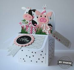 Pop Up Box Cards Card Boxes Greeting Marianne Design