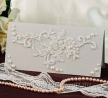 lace and pearl wedding - Google Search