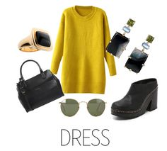 CIRO Jewelry Winter dress by cirojewelry on Polyvore featuring rag & bone, Coccinelle and Ray-Ban