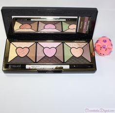 Review and swatches of the Too Faced Love eyeshadow palette and EOTD: http://www.cosmetopiadigest.com/2015/08/too-faced-love-eyeshadow-palette-review-eotd-swatches.html