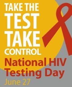 Take the Test- #HIV #nationalhivtestingday