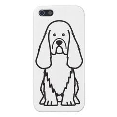 Sussex Spaniel Dog Cartoon Cover For iPhone 5