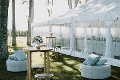 Stunning rustic chic Byron View Farm wedding on the rolling hilltops of Australia styled with natural wood rustic wedding decor details and stylish fashion. Wedding Lounge, Farm Wedding, Chic Wedding, Wedding Trends, Floral Wedding, Rustic Wedding, Wedding Reception, Tree Restaurant, Wedding Rentals