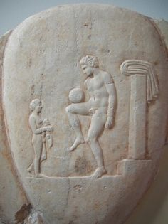 The Ancient Greeks and Romans are known to have played many ball games, some of which involved the use of the feet. The Roman game harpastum is believed to have been adapted from a team game known as episkyros. The Roman politician Cicero (106-43 BC) describes the case of a man who was killed whilst having a shave when a ball was kicked into a barber's shop. These games appear to have resembled rugby football. Also, documented evidence of an activity resembling football can be found in the Chine