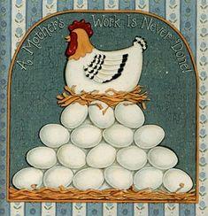 clipart imagem decoupage Chicken 14 Chicken Crafts, Chicken Art, Vintage Labels, Vintage Cards, Tole Painting, Painting On Wood, Chicken And Cow, Chicken Quilt, Country Chicken