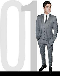 Best dressed short guy this week according to GQ.com - Zac Effron