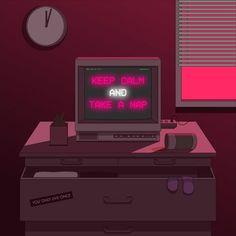 meditation - 디지털 아트 · 일러스트레이션, 디지털 아트, 일러스트레이션, 그래픽 디자인, 일러스트레이션 Neon Aesthetic, Aesthetic Anime, Pixel Life, Trash Art, Street Art, Dibujos Cute, Photo Wall Collage, Vaporwave, Digital Illustration