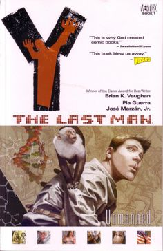 "Le roman graphique ""Y: the Last Man"""