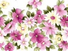 Artistic Floral Patterns and Flower Illustrations - Art Floral Pattern, Flower Illustration Wallpaper 14 Art Floral, Design Floral, Shade Flowers, All Flowers, Purple Flowers, Daisy Flowers, Pink Purple, Flower Patterns, Flower Designs