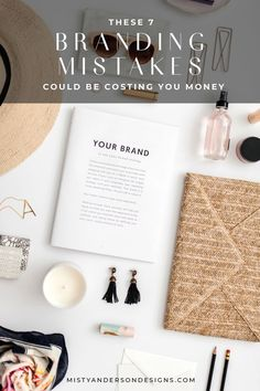 Let me tell you, one of the reasons I am so passionate about branding and design is because I have made mistakes along the way. BIG mistakes! Learn about the most common branding mistakes and how to avoid them... and save yourself money. Branding | Branding Tips | Brand Design | Branding For Creatives | #branding
