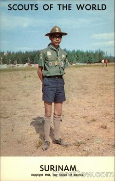 Scouts of the World: Surinam Boy Scouts