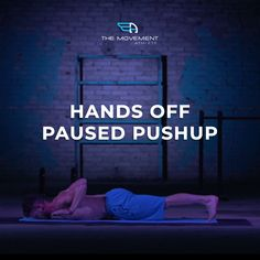 Hands off paused push-ups are a great way to test your push-up strength in its full range of motion as well as check your form.  The Hands-Off Paused Pushup is an integral step towards mastery of The Pushup Fundamental. Muscles targeted: pectorals, triceps, front deltoids, abdominals, trapezius. This movement improves bicep and tricep endurance, trapezius strength, and overall balance. Calisthenics, Range Of Motion, Biceps, Muscles, Push Up, Athlete, Exercises, Strength, Wellness