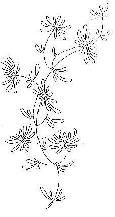 Broderie / Fleur / Modèle