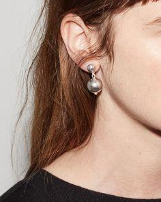 SOPHIE BUHAI   Ball Drop Earrings   Shop at La Garçonne