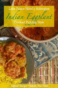 Sweet spicy and tangy; this lighter version of Indian Eggplant Cooked Pickling Style (Baigan Achari) makes a perfect side. Or pair it with rice or a flatbread for a simple satisfying meal. Amazing Vegetarian Recipes, Delicious Dinner Recipes, Baked Eggplant, Eggplant Recipes, Tagine Cooking, Side Dish Recipes, Side Dishes, Indian Food Recipes, Ethnic Recipes