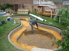 Creare un piccolo laghetto in giardino