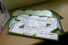 2012 Graduation Card with tassel - Custom color availble. $4.50, via Etsy.