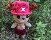 Tony Tony Chopper (One Piece) - Amigurumi PDF pattern (crochet)