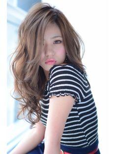 Growing-out-my-hair-inspiration Hair style トリコ trico 外国人風ウェービーグラマラス大人かわいいマーメイドアッシュ☆