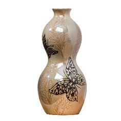 Reactive Butterfly vase