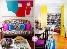 Beautiful, colorful room