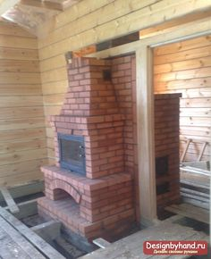 Fireplaces with their hands: types, step by step instructions for making and video