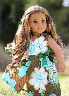 Mama Cassi's Handmade American Girl Doll Dress