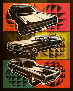 Wheatpaste Art Collective Luxury Trim Deluxe Stretched Canvas Wall Art by Lucas Irwin 24Inch by 30Inch
