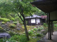 Kaizo-ji: Jardines del templo Rinzai Zen en Kamakura, dedicado al Buda de la Medicina, Yakushi Nyorai. Este Yakushi es popularmente considerado como un guardián de la felicidad de los niños y el crecimiento saludable. Reiki, Kamakura, Zen, Japanese, Garden, Plants, Medicine, Buddha, Temple