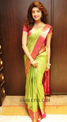 pranitha-subhash-latest-saree-VRK-silks-launch
