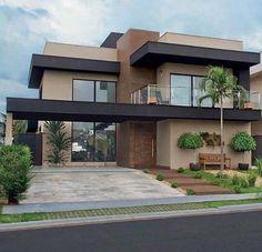 Best House Modern Family Ideas house is part of Facade house - Dream House Exterior, Dream House Plans, Exterior House Colors, Modern House Plans, Modern Family House, Bungalow House Design, House Front Design, Modern House Design, Modern House Colors