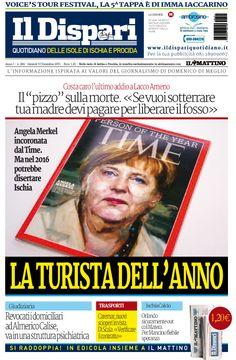 La copertina del 10 dicembre 2015 #ischia #ildispari