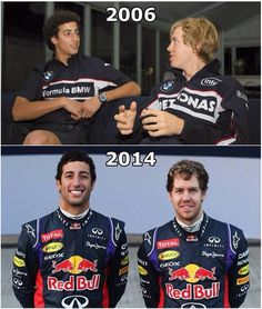They've met before!