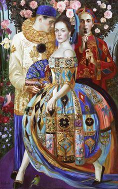 En la obra de Olga Suvorova , rusa nacida en 1966 en San Petersburgo, podemos encontrar, al menos, dos fases en su producción pictór...
