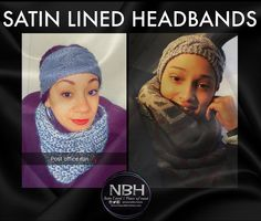 """Good morning everyone!! Our Satin Lined Headbands are selling out quick! They're the perfect """"on the go"""" accessory for these wintry mornings. Naturalbornhats.com #NBH #Friday #TGIF #Headband #SatinLinedHeadband #ProtectiveStyles #ProtectYourMane by naturalbornhats"""