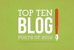 My Top 10 Posts in 2012