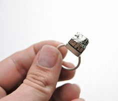 giantLion Pyrite Ring  by giantLION