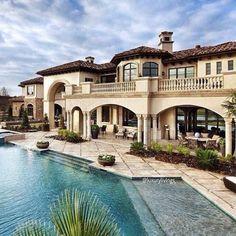 #house #pool #mansion