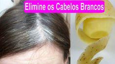 ELIMINE OS CABELOS BRANCOS, USANDO CASCAS DE BATATA - Dicas Caseiras Fáceis